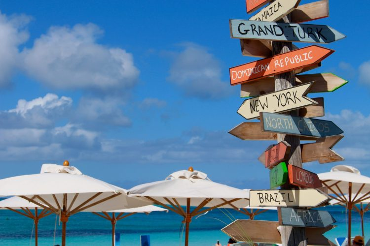 what to do in turks and caicos_grace bay_beach_signs