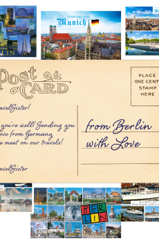 TravelSisters Postcard Germany