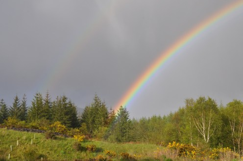 Rainbow, Scotland, Oban
