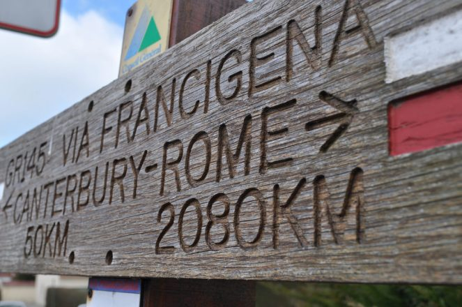 France really is the hiking paradise. This trail will take you from Cantebury to Rome.