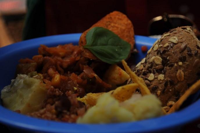 A plate full of munch.