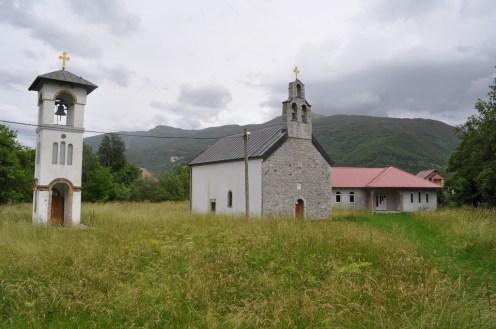 The smaller church of Gusinje.