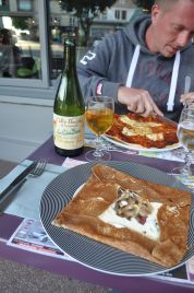 Crepes, Pizza, Normandy