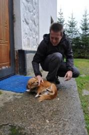 Very very sweet little doggie.