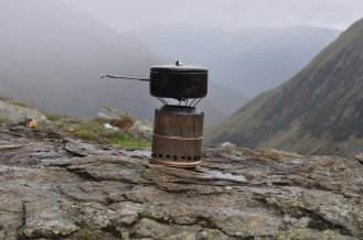 Woodgas stove, Romania