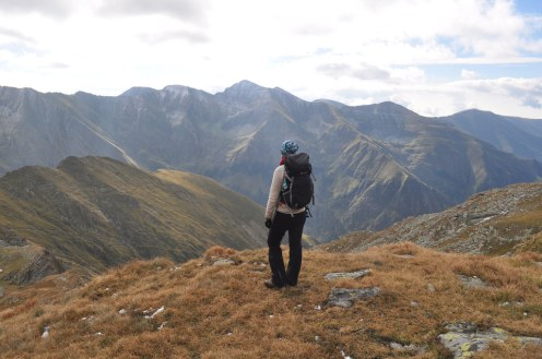 Fagaras, Hiker, Mountains