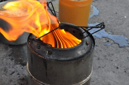Cyprus, Camping, Cooking
