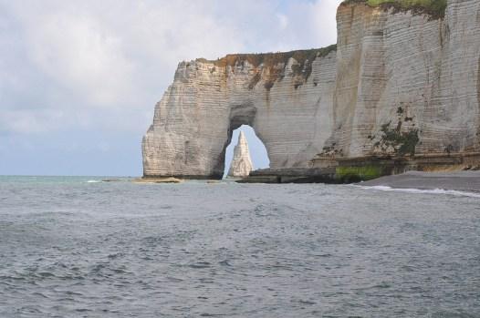The famous landmarks of Étretat