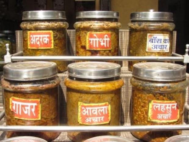 Jars of achar 2