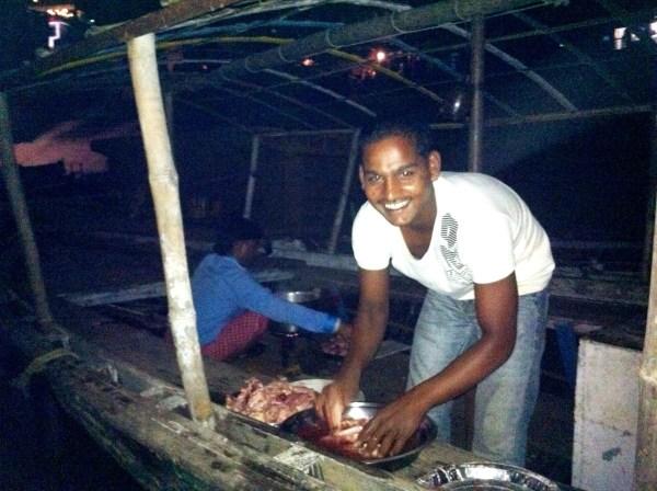 boat dinner - rahul