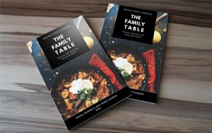 The Family Table Cook Book - Mock Up