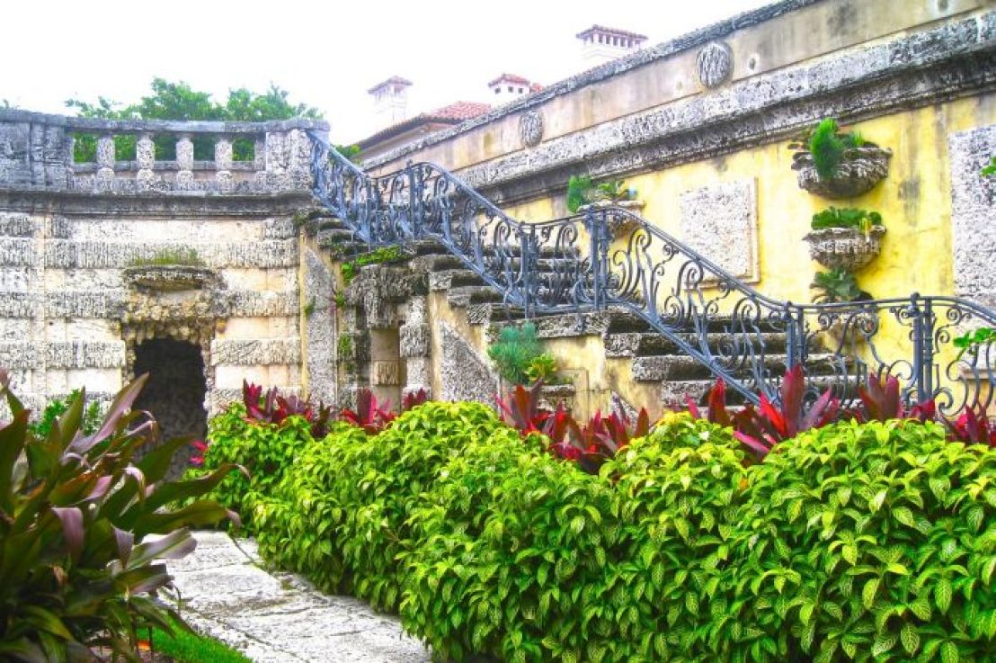 U.S. Destinations: Vizcaya Museum and Gardens in Miami, Florida. Visit a mansion from America's Gilded Age, grand as many European buildings and gardens...only in a tropical setting! (Photo by Suzanne Ball. All rights reserved.)