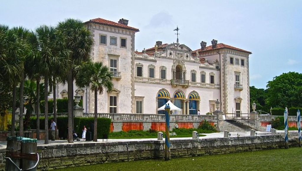 Vizcaya, Miami is Italian-inspired.