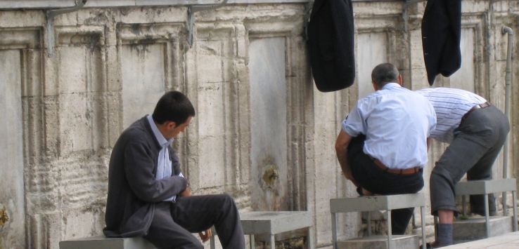 People of Istanbul-Ablution