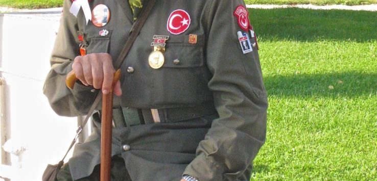 People of Istanbul-Man in soldier's uniform