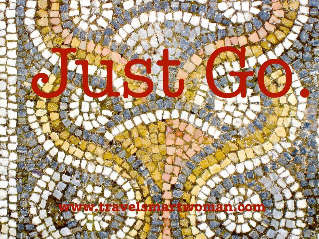 Quote-Just Go.