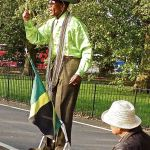 Street performers-London-Jamaica man at Speakers' Corner