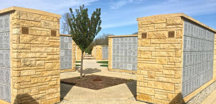 National Cemeter: Columbaria squares