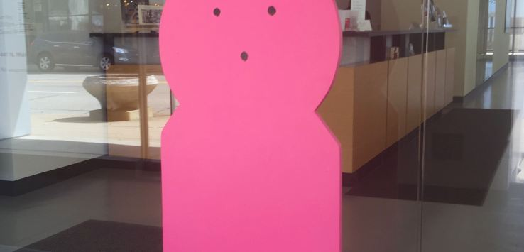 PEEPS: Entry at Racine Art Museum