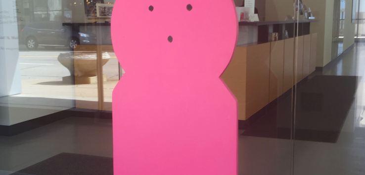 PEEPS: Entry at Racine Art Museum