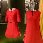 Montreal Expo '67: The Italian hostesses wore red uniforms with buttons on the sides of the skirts.