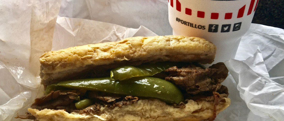Italian Beef Sandwich--one of Chicago's favorites! (Photo by Suzanne Ball. all rights reserved.)