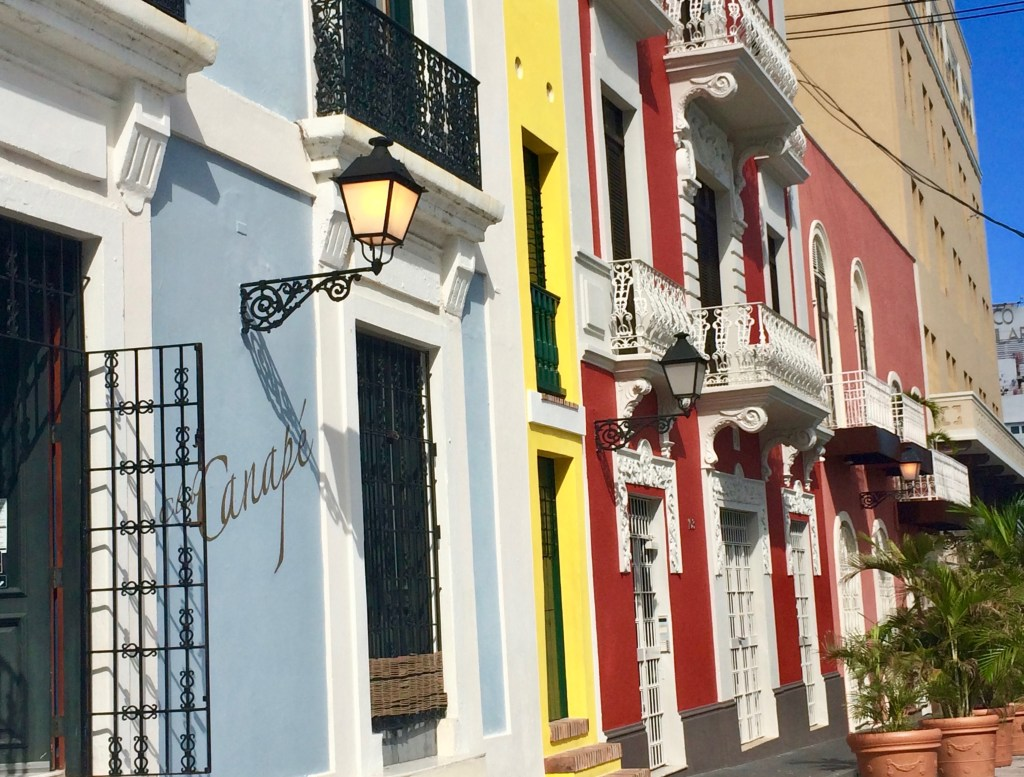 San Juan, Puerto Rico: the entire downtown area is a UNESCO Heritage Site. (Photo by Suzanne Ball. All rights reserved.)