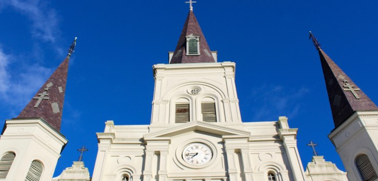 Mornings in NOLA: Jackson Square and the Cathedral de St. Louis are perfect for photography.