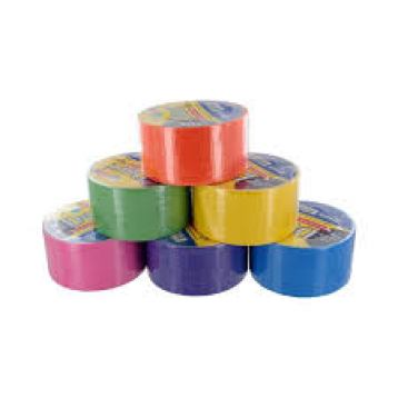 Think duct tape is just silver? Think again. It comes in pretty colors and designs, too.