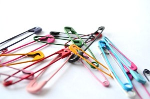 One thing you always pack? Safety pins, of course!