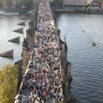 Charles Bridge in afternoon (Wikipedia)