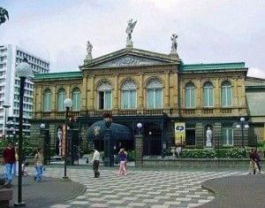 The National Theatre of San Jose-Costa Rica is also a national treasure.