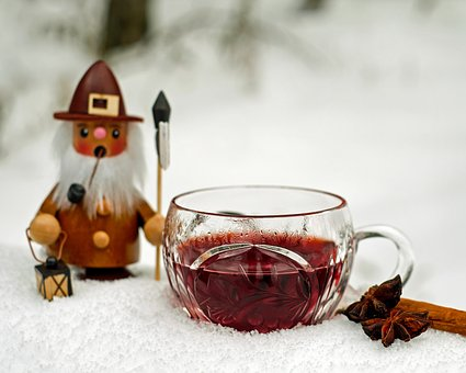 Mulled wine is a great way to warm up in any cold weather!