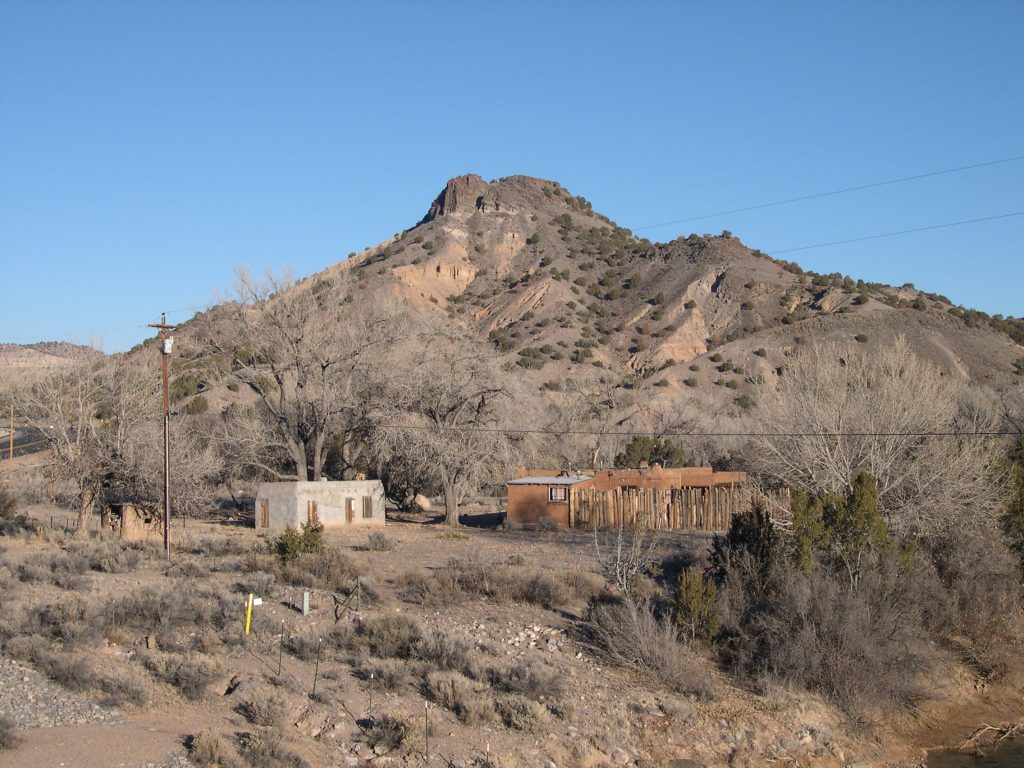 Edith Warner's home and teahouse. She fed and entertained the people who were sequestered at Los Alamos.