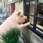 At Cochon Dingue (Crazy Pig) restaurant