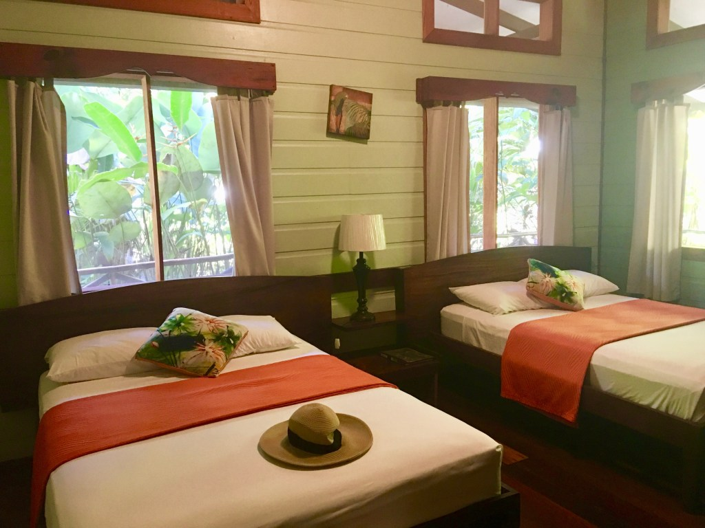 How to sleep well when you travel: Lots of windows require blocking out extra light. (Costa Rica. Photo by Suzanne Ball)