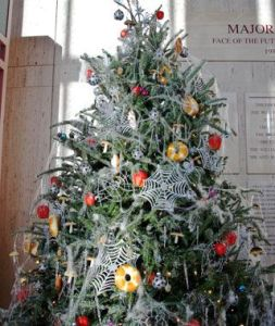 Holiday traditions around the world: Ukranians decorate their Christmas trees with spiders and spider webs.