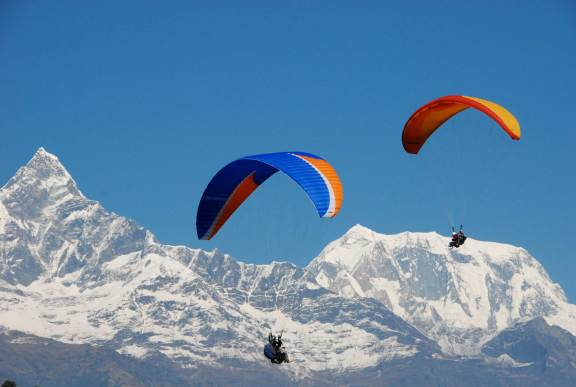 Image result for paragliding in sikkim