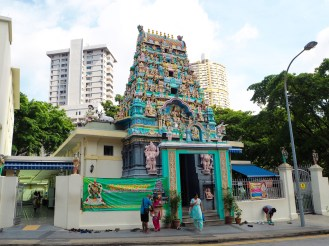 The temple at the end of our street