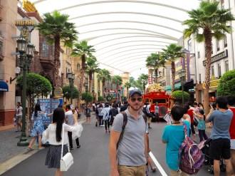 The street through 'Hollywood'