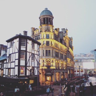 The Triangle/Corn Exchange in Manchester