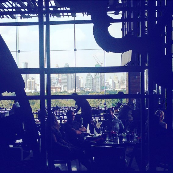 The stunning view from Red Oven, Sofitel So