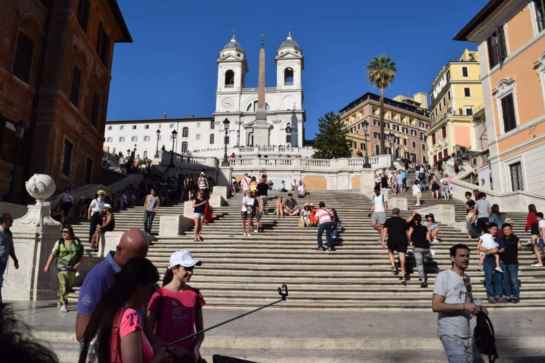Spanish Steps Eternal City