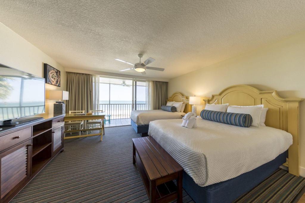 Florida Family Beachfront Accommodations Pink Shell Beach Resort and Marina