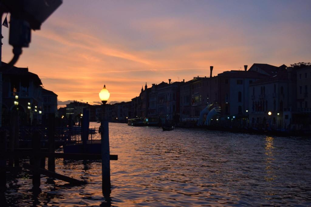 Venice at dusk. Photos from 2 weeks in Italy.
