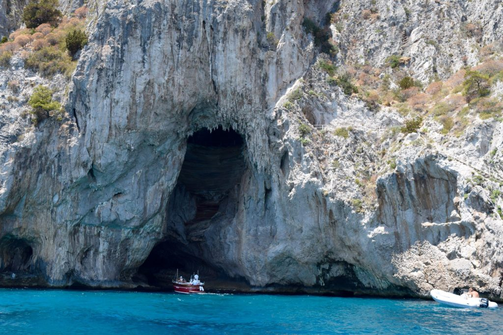 Grottos of Capri. 2 Weeks In Italy www.travelsofjenna.com/2-weeks-in-italy