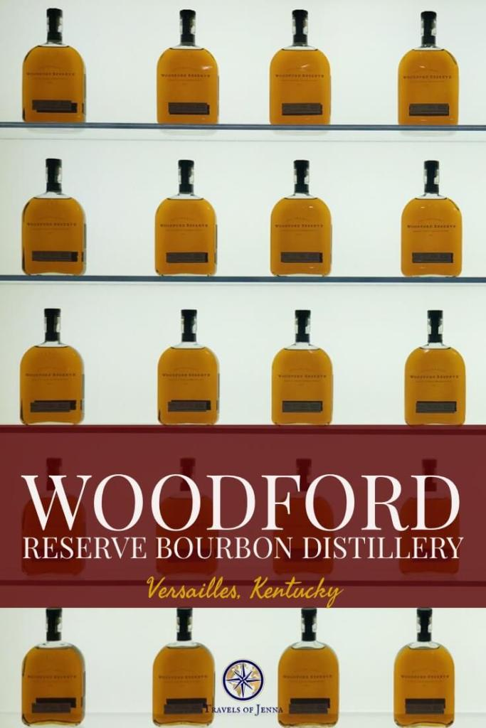 Woodford Reserve bourbon distillery is one of the most beautiful on the Kentucky Bourbon Trail. #bourbontrail #kentucky