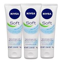 NIVEA Soft Moisturizing Creme, All-In-One Travel Size