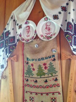 Local crafts in Oksana's cottage