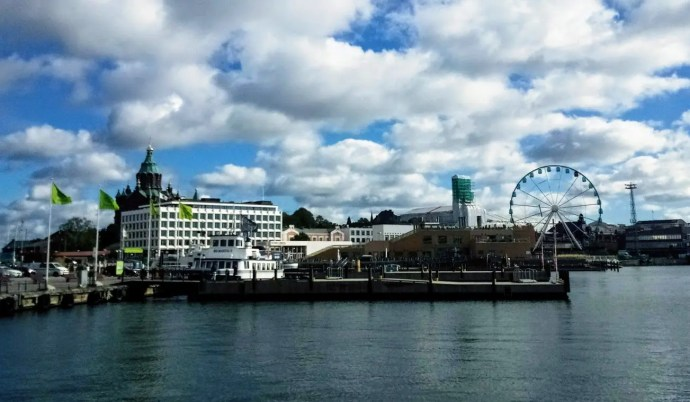 Helsinki Port, Löyly Sauna and waterfront